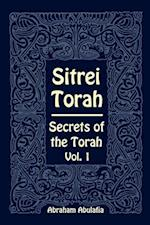 Sitrei Torah, Secrets of the Torah, Vol. 1 af Abraham Abulafia
