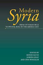 Modern Syria af Moshe Ma'oz, J. Ginat