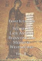 Studies in Late Antique Byzantine and Medieval Western Art