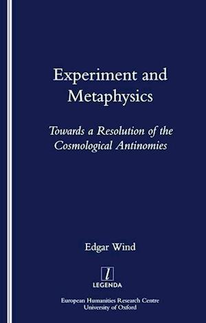 Experiment and Metaphysics