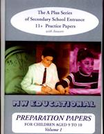 Preparation Papers ('A' Plus S)