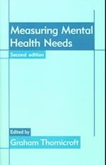 Measuring Mental Health Needs (CV/Visual Arts Research S)