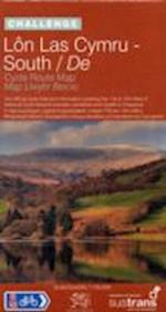 Lon Las Cymru South - Sustrans Cycle Route Map - NN8A (Sustrans National Cycle Network)