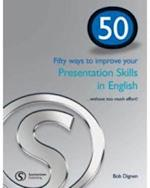 50 Ways to Improve Your Presentation Skills in English