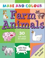 Make and Colour Farm Animals (Make & Colour S)
