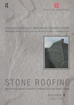 Stone Roofing (English Heritage Research Transactions, nr. 9)