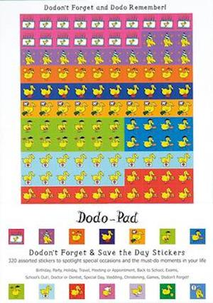 Dodon't Forget and Save the Day Stickers from Dodo Pad