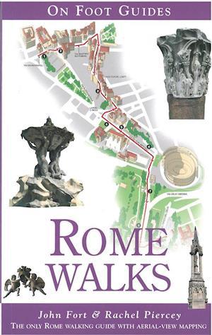 Bog, paperback Rome Walks af John Fort, Rachel Piercey