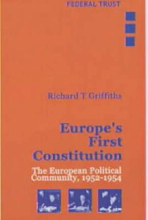 Europe's First Constitution