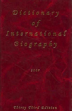 Dictionary of International Biography