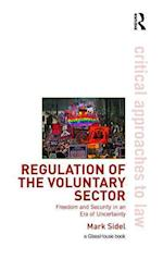 Regulation of the Voluntary Sector (Critical Approaches to Law)