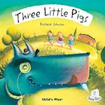 Three Little Pigs (flip up fairy tales)