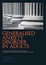 Generalised Anxiety Disorders in Adults af National Collaborating Centre For Mental