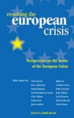 Resolving the European Crisis