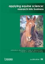 Applying Equine Science (Bsas Publications, nr. 35)