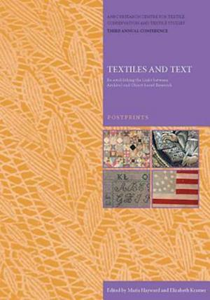 Textiles and Text