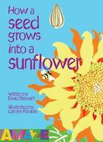 How A Seed Grows Into A Sunflower af David Stewart, Carolyn Franklin