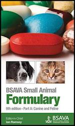 BSAVA Small Animal Formulary, Part A