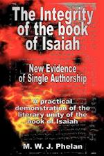 The Integrity of the Book of Isaiah: New Evidence of Single Authorship
