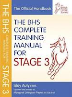 BHS Complete Training Manual for Stage 3 af British Horse Society