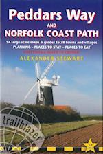 Peddars Way and Norfolk Coast Path: Trailblazer British Walking Guide af Alex Stewart, Alexander Stewart
