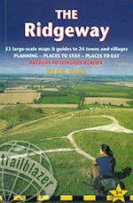 Trailblazer (British Walking Guide Ridgeway Avebury to Ivinghoe Beacon Planning Places to Stay Places to Eat)