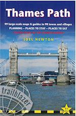 Thames Path: Trailblazer British Walking Guide (British Walking Guides)