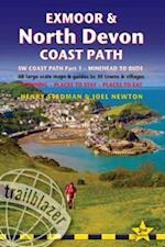 Exmoor & North Devon Coast Path (British Walking Guides)