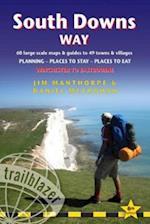 South Downs Way (Trailblazer British Walking Guides) (British Walking Guides)