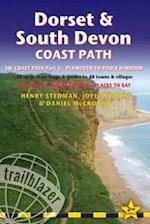 Dorset & South Devon Coast Path (Trailblazer British Walking Guide) (British Walking Guides)