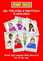 Let's Sign BSL Feelings & Emotions Flashcards (Lets Sign)