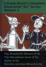 L Frank Baum's Complete Illustrated Oz Series (4 Vol Set)