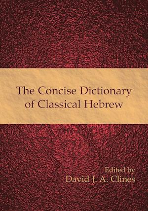 Bog hæftet The Concise Dictionary of Classical Hebrew