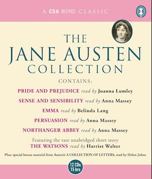 """The Jane Austen Collection: """"Sense and Sensibility"""", """"Pride and Prejudice"""", """"Emma"""", """"Northanger Abbey"""", """"Persuasion"""" AND """"The Watsons"""" (Unabridged)"""