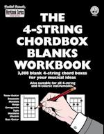The 4-String Chordbox Blanks Workbook af Tobe A. Richards