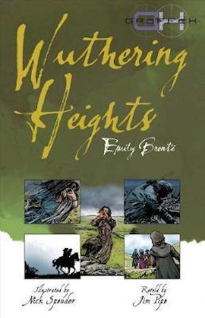 Bog, paperback Wuthering Heights af Emily Bronte, Jim Pipe, Nick Spender