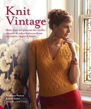 Bog, hardback Knit Vintage af Madeline Weston