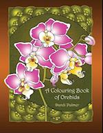 A Colouring Book of Orchids