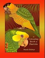 A Colouring Book of Parrots