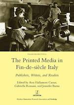 Printed Media in Fin-de-siecle Italy af Jennifer Burns