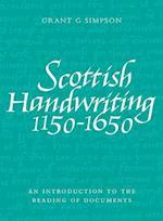 Scottish Handwriting 1150-1650