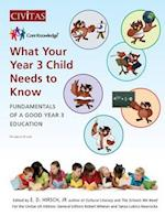 What Your Year 3 Child Needs to Know (Core Knowledge UK, nr. 3)