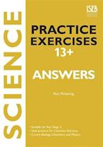 Science Practice Exercises 13+ Answer Book (Practice Exercises at 11+/13+)