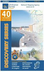 Galway, Longford, Roscommon, Westmeath (Irish Discovery Series, nr. 40)