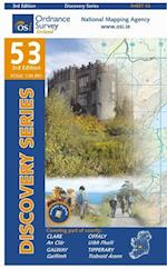 Clare, Galway, Offaly, Tipperary (Irish Discovery Series, nr. 53)