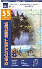 Kildare, Laois, Offaly, Wicklow (Irish Discovery Series, nr. 55)