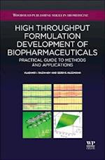 High-Throughput Formulation Development of Biopharmaceuticals af Vladimir I. Razinkov