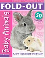 Fold-Out Baby Animals Sticker Book af Chez Picthall