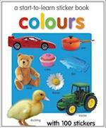 Colours Sticker Book (Start to Learn)