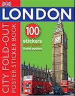 Fold-out London Sticker Book (Fold-out Poster Sticker Books)